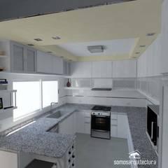 Proyecto de reforma en Cocina / Lavadero: Cocinas de estilo  por Somos Arquitectura