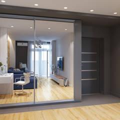 Квартира однокомнатная для аренды: Коридор и прихожая в . Автор – Оксана Мухина