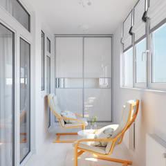 Квартира однокомнатная для аренды: Tерраса в . Автор – Оксана Мухина