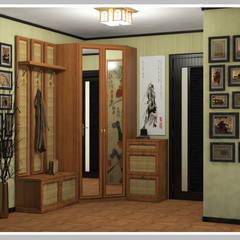 Проект квартиры в этническом стиле: Коридор и прихожая в . Автор – Рязанова Галина