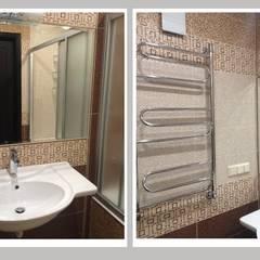 Проект квартиры в этническом стиле: Ванные комнаты в . Автор – Рязанова Галина,