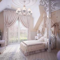 Dormitorios infantiles de estilo  por Инна Михайская