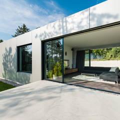OFFENES HAUS:  Terrasse von PLANET architects