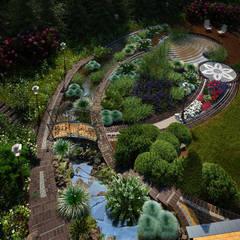 Безмятежное: Сады в . Автор – Мастерская ландшафта Дмитрия Бородавкина