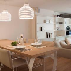 Piso en Palermo · Paula Herrero | Arquitectura: Comedores de estilo  por Paula Herrero | Arquitectura