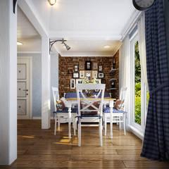 Проект гостевого домика : Столовые комнаты в . Автор – Инна Михайская,