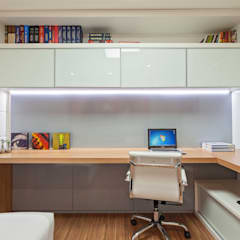 Study/office by Carmen Calixto Arquitetura