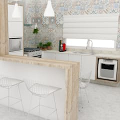 eclectic Kitchen by Arquiteto Virtual - Projetos On lIne