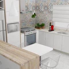 مطبخ تنفيذ Arquiteto Virtual - Projetos On lIne