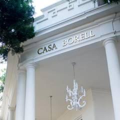 Casa Borell: Salones para eventos de estilo  por Laura Vintage, Ecléctico