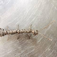 Hormiga decorativa de hierro: Paredes de estilo  de Ferros la Pobla, S.A.