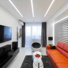 Квартира на улице Маршала Малиновского. Реализация: Гостиная в . Автор – Rustem Urazmetov