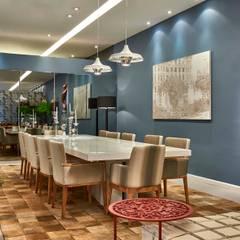 Decora Lider Campinas - Lounge e jantar: Salas de jantar modernas por Lider Interiores