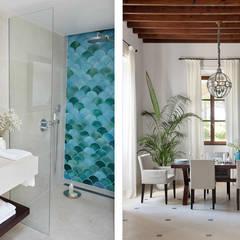 Hotel in Mallorca Cal Reiet / The Main house : Baños de estilo  de Bloomint design