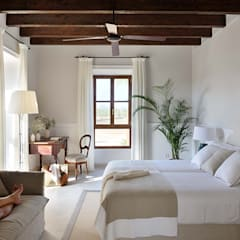 mediterranean Bedroom by Bloomint design