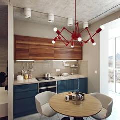 Small apartment for my friend: Кухни в . Автор – Студия дизайна Марии Губиной