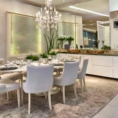 Decora Lider Campinas - Sala de Almoço – Em Volta da Mesa: Salas de jantar  por Lider Interiores,Moderno