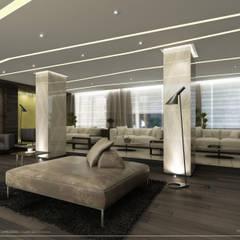 Proyecto de Diseño Interior - Lobby Hotel: Hoteles de estilo  por Estudio JP,Moderno