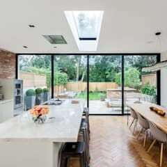 Ashley Road:  Dining room by Concept Eight Architects