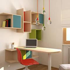 modern Study/office by OGARREDO