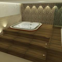 Spa de estilo  por Rangel & Bonicelli Design de Interiores Bioenergético,