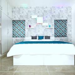Phòng ngủ by Sanskriti Architects