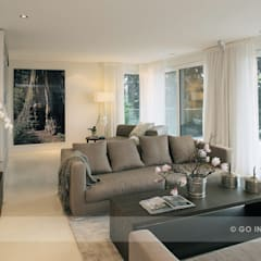 Apartment Kilchberg:  Wohnzimmer von Go Interiors GmbH,Modern