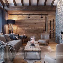Chalet Klosters: Moderne Wohnzimmer Von Go Interiors GmbH