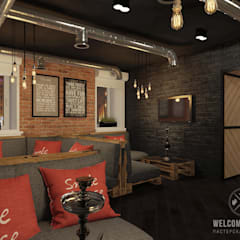 Bar & Klub  by Мастерская дизайна Welcome Studio