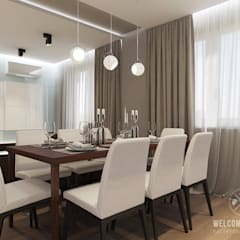 Cuisine de style  par Мастерская дизайна Welcome Studio, Minimaliste