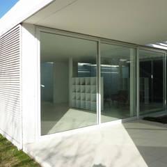 Pabellón cuatro x cuatro: Jardines de invierno de estilo  por Marcelo Ranzini - Arquitectura