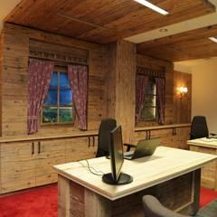 Reisecenter in Altholz:  Geschäftsräume & Stores von Tischlerei Sekura