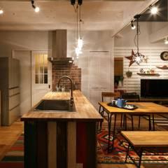 H's HOUSE: dwarfが手掛けたキッチンです。