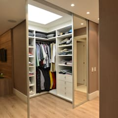 Dressing room by ANNA MAYA ARQUITETURA E ARTE