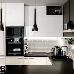 scandinavian Kitchen by AS-MEB