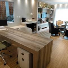 Study/office by Gabriela Herde Arquitetura & Design,