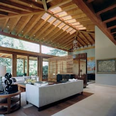 mediterranean Living room by JR Arquitectos
