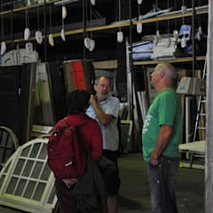 Gäste der Upcyclingbörse Hannover 2015 in den Ausstellung der Bauteilbörse Hannover:  Flur & Diele von Bauteilbörse Hannover