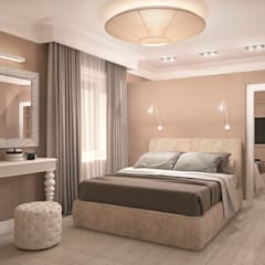 Classic style bedroom by Виталия Бабаева и Дарья Дикая Classic