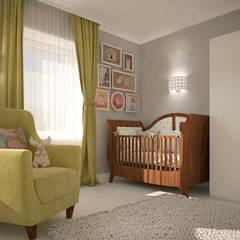 Dormitorios infantiles de estilo  por Виталия Бабаева и Дарья Дикая