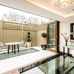 Town House Ealing :  Terrace by Quirke McNamara