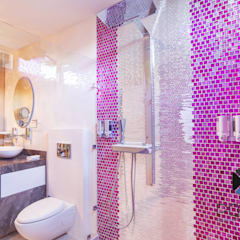 Baños de estilo  por PORTO Arquitectura + Diseño de Interiores