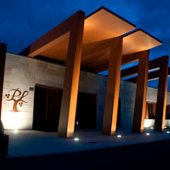 BODEGA PAGOS DE LEZA: Bodegas de estilo  de rdl arquitectura
