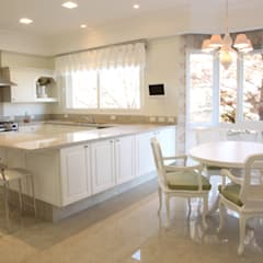 classic Kitchen by Claudia Pereira Arquitetura
