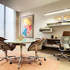 Study/office by homify,