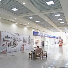 Интерьер III-очереди строительства ТРЦ КАРАВАН: Галереи  в . Автор – GP-ARCH