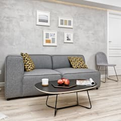 غرفة المعيشة تنفيذ Partner Design , إسكندينافي