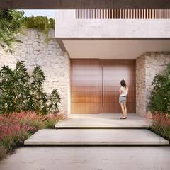 Puertas y ventanas minimalistas de Mader Arquitetos Associados Minimalista