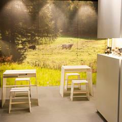 MÜHLENMESSE Messestand für einen Rasierpinselhersteller:  Messe Design von Produkt Design Leipzig