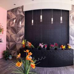 Florería Lantana : Oficinas y tiendas de estilo  por Taller La Semilla